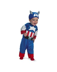 Disfraz de Baby Capitán América  para bebé