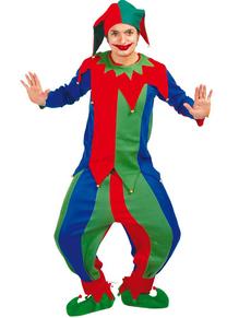 Disfraz de bufón de colores