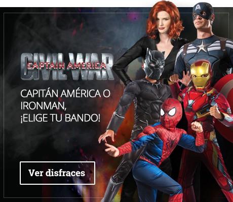 Disfraces Capitán América Civil War