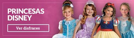 Disfraces Princesas Disney