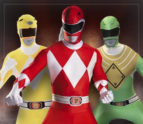 Disfraces Power Rangers