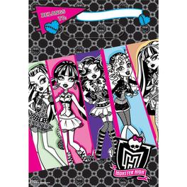 Bolsas de plástico truco o trato Monster High