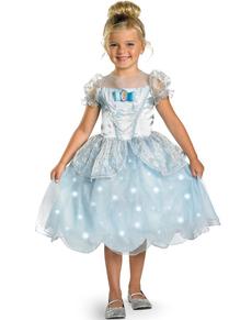 Disfraz de La Cenicienta luminoso para niña
