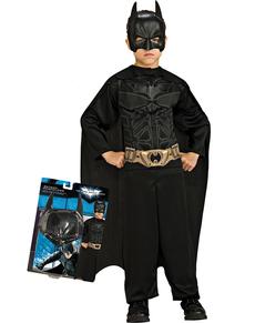 Disfraz de Batman TDK Rises Action Suit para niño