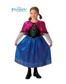 Disfraz de Anna Deluxe Frozen para niña