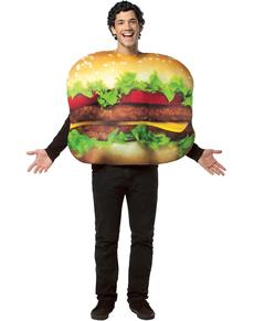 Disfraz de hamburguesa