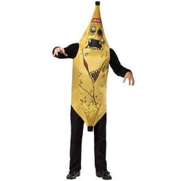 Disfraz de plátano zombie