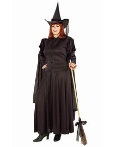 Disfraz de la bruja del sombrero talla grande