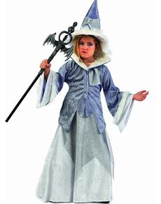 Disfraz de bruja maga Abelina para niña