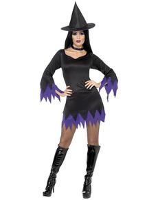 Disfraz de bruja hechicera sexy para mujer