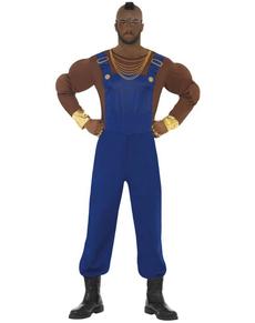 Disfraz de Mr T azul