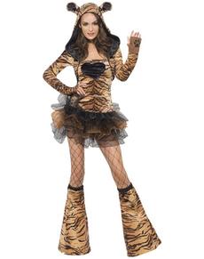 Disfraz de tigre sexy Fever