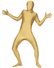 Disfraz Segunda Piel dorado