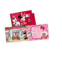 Set de invitaciones Minnie Mouse