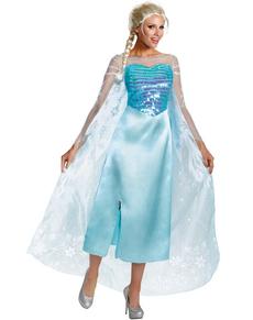 Disfraz de Elsa Frozen deluxe para mujer