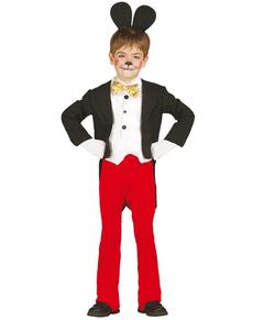 Disfraz de ratoncito Miky para niño