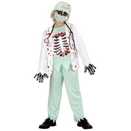 Disfraz de enfermero zombie para niño