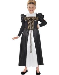 Disfraz de María de Escocia Horrible Histories para niña