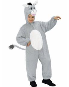 Disfraz de burro de peluche infantil