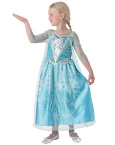 Disfraz de Elsa Frozen Premium para niña