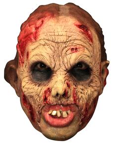 Máscara Undead Deluxe de látex con dientes