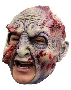 Máscara Rotted de látex con dientes