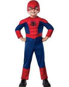 Disfraz de Ultimate Spiderman deluxe para bebé