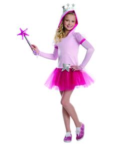 Disfraz de Glinda la bruja buena El Mago de Oz tutú para niña