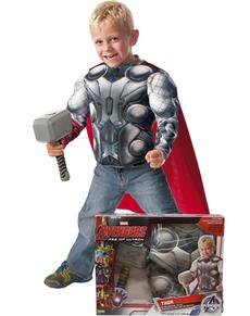 Kit disfraz Thor Los Vengadores 2 La Era de Ultrón para niño