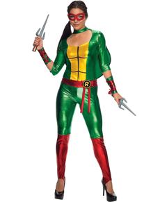Disfraz de Raphael sexy Las Tortugas Ninja para mujer