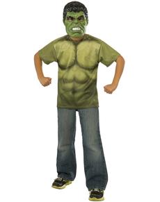 Kit disfraz Hulk Vengadores: La Era de Ultrón para niño