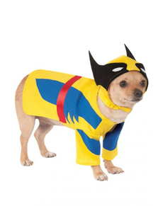 Disfraz de Lobezno para perro