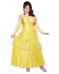 Disfraz de Bella para mujer talla grande
