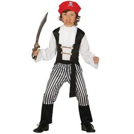 Disfraz de pirata de los mares para niño