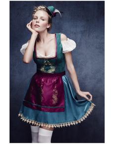 Disfraz de bávara tradicional fever deluxe para mujer