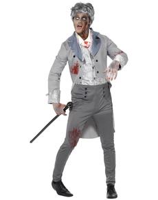 Disfraz época zombie para hombre
