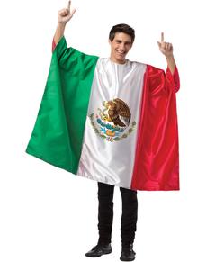 Disfraz de bandera de México para hombre