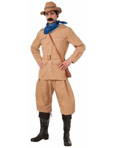Disfraz de Theodore Roosevelt para hombre talla grande