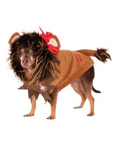 Disfraz de León tímido El Mago de Oz para perro
