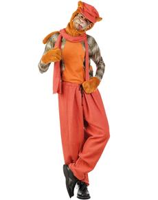 Disfraz de gato callejero Misifú para hombre
