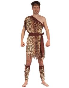 Disfraz de troglodita de las cavernas para hombre