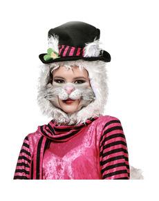 Máscara de gatita para niña