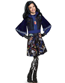 Disfraz de Evie Isla de los Perdidos Los Descendientes deluxe para niña