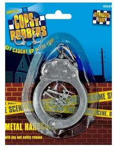 Esposas de metal con llave