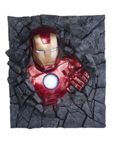 Figura decorativa Iron man pared Marvel