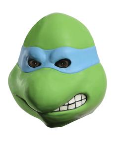 Máscara de látex de Leonardo Tortugas Ninja para adulto