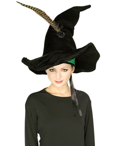 Sombrero de Minerva McGonagall deluxe Harry Potter