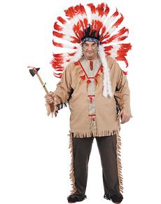 Disfraz de indio XXL
