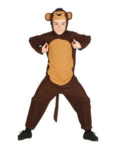 Disfraz de mono juguetón para niño