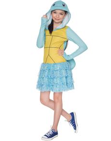 Disfraz de Squirtle Pokemon para niña